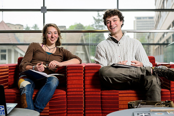 2016 Udall Scholars Megs Seeley and Miles Tryon-Petith