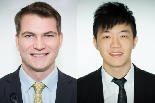 2017 Schwarzman Scholars Brian Drout and Chien Sheng
